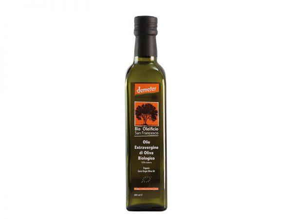 BSFDEM430/1 - Bio Oleificio San Francesco - Demeter - Olio extra vergine d'oliva da Agricoltura Biodinamica 500ml