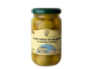 PGCVOV/1 - Principe di Gerace - Olive verdi in salamoia 200g